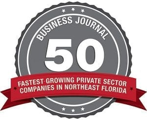 Jacksonville Business Journal's Fastest Growing Companies in 2013